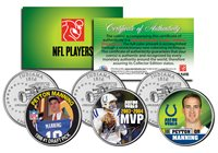 Breast Cancer Awareness PEYTON MANNING NFL Half Dollar 24K Coin *DENVER BRONCOS*