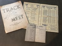 Lot 1938 High School football ALL STAR GAME Monmouth County NJ Track Long Branch