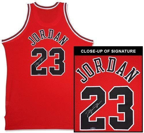 a7e6791f656 MICHAEL JORDAN Signed Bulls M N Authentic Jersey UDA. Click To Enlarge