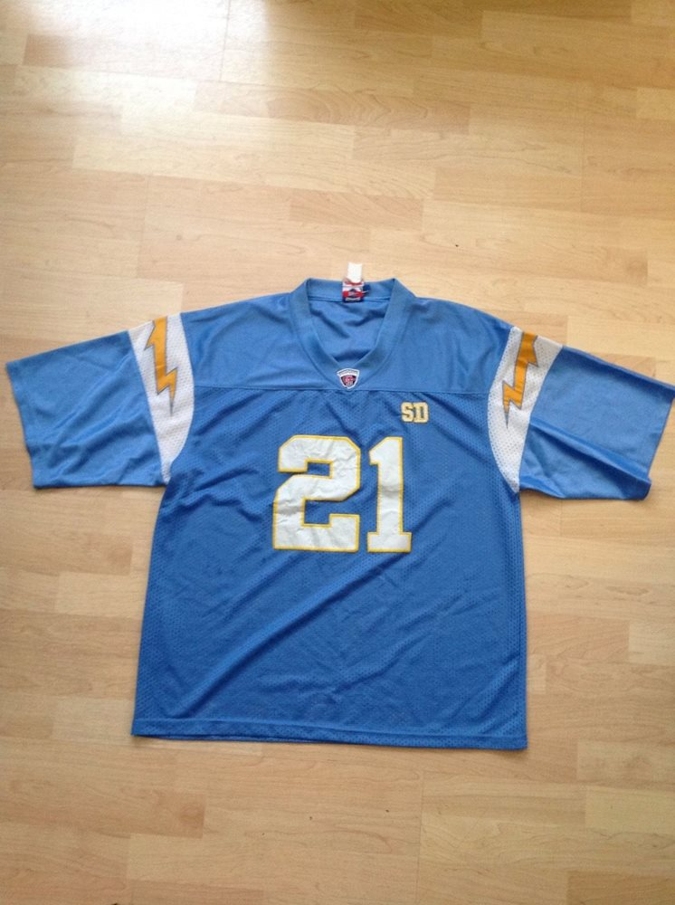 free shipping 90d46 a2f60 LaDainian Tomlinson #21 San Diego Chargers Powder Blue NFL Jersey Youth XL
