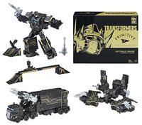 Transformers Primitive Skateboarding 9 Inch Action Figure Convention Exclusive - Optimus Prime & Shreddicus Maximus SDCC 2017