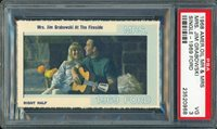 1968 American Oil Mr. and Mrs. Jim Grabowski PSA 3 VG Green Bay Packers Rare