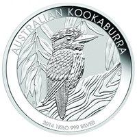 2019 Australia 1 kilo Silver Kookaburra BU SKU#171696