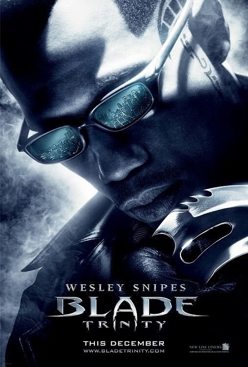 Blade Movie Poster C Wesley Snipes Poster 11 X 17 Inc