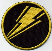 "Ground Assault Z Force GI Joe Action Force 3/"" Embroidered Iron-On Patch"