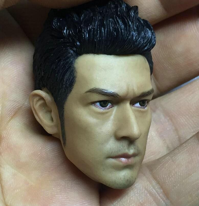 HOT FIGURE TOYS 1//6 HEADSCULPT Takeshi Kaneshiro HEADPLAY Straight hair