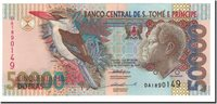 50,000 Dobras Saint Thomas and Prince Banknote, 1996-10-22, Km:68a