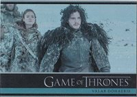 GAME OF THRONES SEASON 3 FOIL PARALLEL BASE INSERT TRADING CARD SET (1-98)
