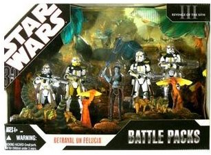 Star Wars Battle Pack Action Figures Betrayal On Feluc
