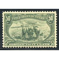 US 291 Early Commemoratives VF + LH Mint cv 625.00