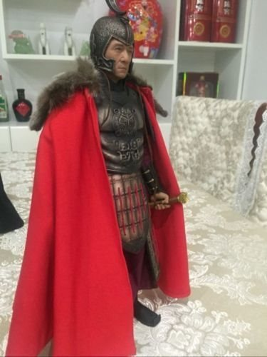 "1:6 Figure Accessory Red ancient soldier Cloak Cape For 12/"" Male /& Female Doll"