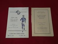 1957 St. Louis Schools Stadium Olympic Marine Corps 1936 Annual Field Pamphlets