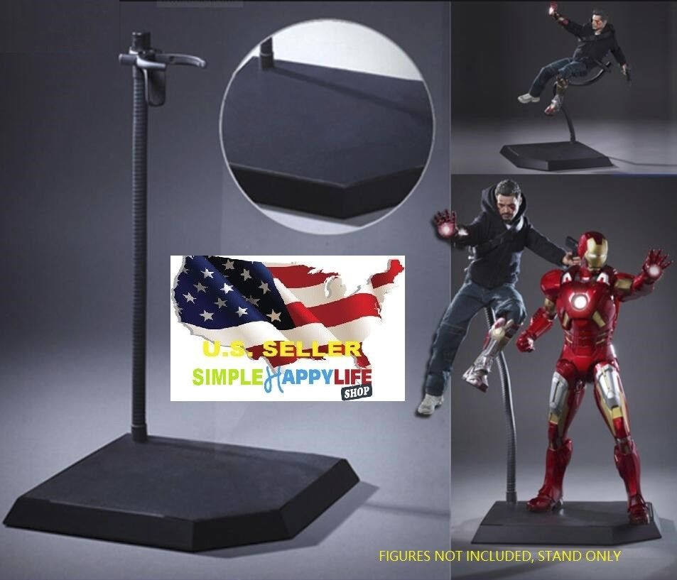 Dynamic Stand For 1//6 Scale Hot Toys Action Figure Display