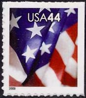 4396a 44c Flag Convertible Booklet of 10[4396a]