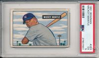 Mickey Mantle 1951 Bowman ROOKIE CARD! # 253 Solid Investment RC PSA 5 !!