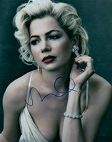 Michelle Williams As Marilyn Monroe Hand Signed 8x10 Autographed Photo COA 3