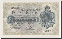 1 Pound 1982 Falkland Islands Banknote