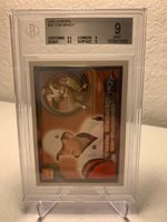2000 Pacific Aurora Tom Brady #84 BGS9