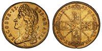 England James II 1688 AV Five Guineas. PCGS Genuine AU Detail SCBC-3397A