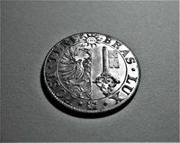 SWITZ.1839 25 CENTIMES BILLON MS 65