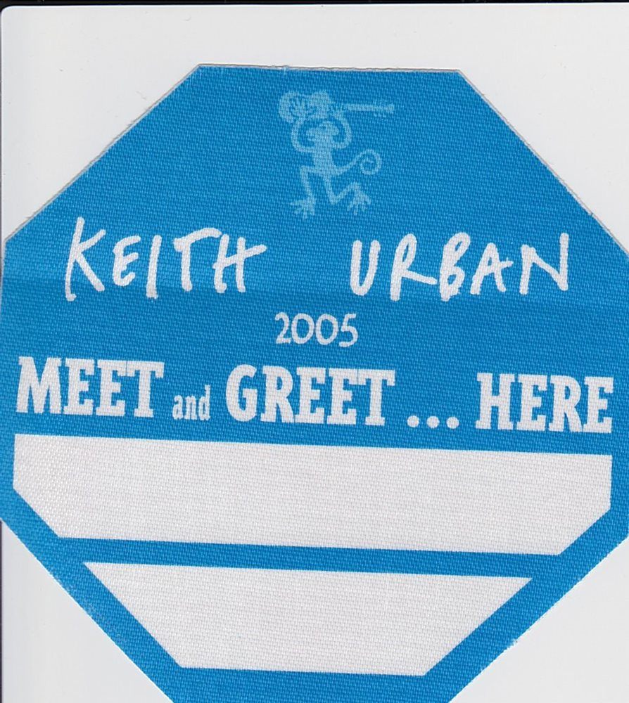 Keith urban meet and greet here 2005 concert tour s m4hsunfo