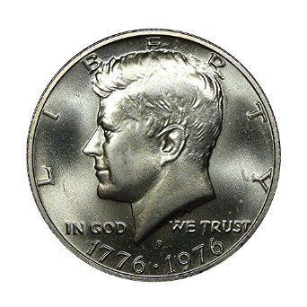 """1976 S Bicentennial Kennedy Half Dollar /""""Brilliant Uncirculated/"""" 40/% Silver"""