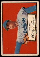 1952 Topps #20 Billy Loes VG Red Back RC Rookie1952 Topps #20 Billy Loes VG Red Back RC Rookie