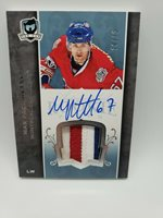 2017-18 UD The Cup Max Pacioretty Tribute Rookie Patch Auto /10 - #071-MP RPA