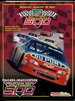 Darlington Raceway-Southern 500-NASCAR Race Program