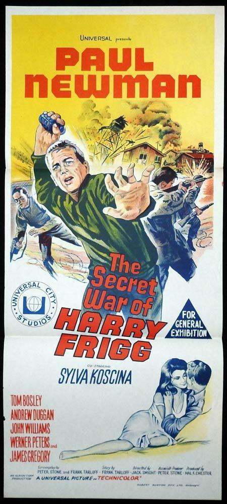 The secret war of Harry Frigg Paul Newman movie poster