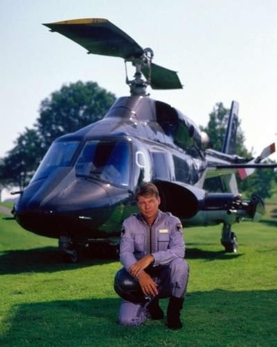 Airwolf 8X10 Photo Helicopter Tv Show
