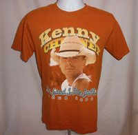 Kenny Chesney Concert Tour Shirt 2006 The Road & The Radio Small