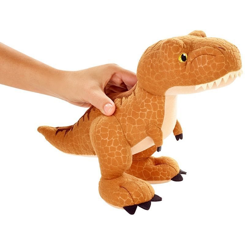 Aurora Monkey Stuffed Animal, Jurassic World Fallen Kingdom Plush Dinosaur Tyrannosau