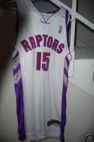 promo code 6f8c3 bdbb4 2000-2001 Vince Carter Toronto Raptors game used jersey