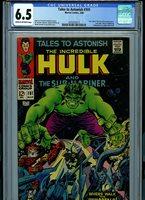 TalesTo Astonish #101 CGC 6.5 1968 Marvel Comic K26 Amricons Last issue