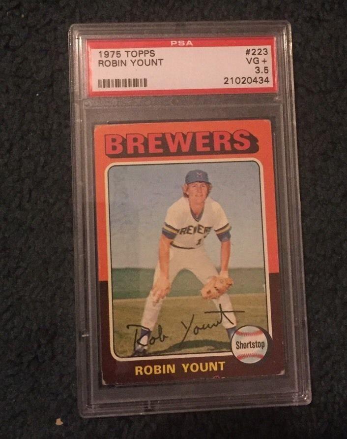 Ebay Auction Item 201718564607 Baseball Cards 1975 Topps