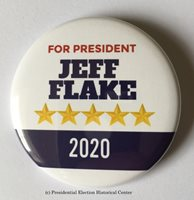 Jeff Flake 2020 Presidential Hopeful Campaign Button (FLAKE-706)