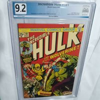 Incredible Hulk #181 PGX 9.2 White Pages 1st Full Wolverine See Photos RARE GV