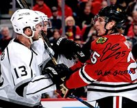"Dale Weise Autographed Signed and Inscribed ""Dutch Gretzky"" Chicago Blackhawks 8x10 Photo Photograph"