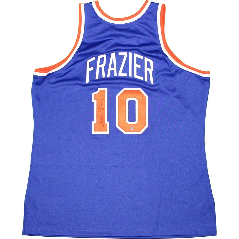 competitive price 763e6 fd260 Walt Frazier Signed 1972-73 Authentic New York Knicks Jersey