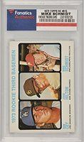 Mike Schmidt Philadelphia Phillies 1973 Topps Rookie #615 Card - Fanatics Authentic Certified - Baseball Slabbed Rookie Cards