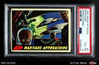 1962 Mars Attacks #2 Martians Approaching PSA 4 - VG/EX