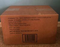 Pokemon Unbroken Bonds Launch Display 36 Boosters Brand New ~Factory Sealed~