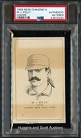 1889 N526 Diamond S Cigars Mike Kelly - PSA Authentic (Altered)