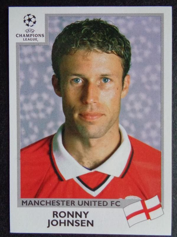 PANINI CHAMPIONS LEAGUE 1999-2000 #135 Teddy Sheringham MANCHESTER UNITED