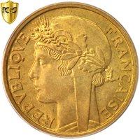 French West Africa, Franc, 1944, Paris, PCGS, MS64, Aluminum-Bronze, KM:2