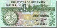 1 Pound Guernsey Banknote