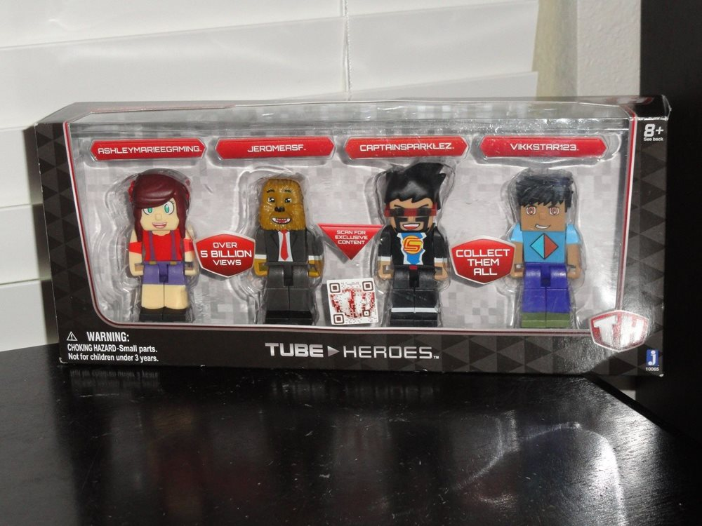 TH TUBE HEROES DELUXE GAMING PACK NEW
