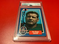 Jim Ringo HOF Packers 1988 Swell Signed Auto PSA/DNA ENCAPSULATED