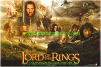 13.5x20 Movie Poster Flyer LORD OF THE RINGS TRILOGY